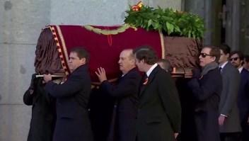 ¿Por qué se exhumaron los restos de Franco?