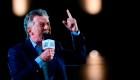 Cierre de campaña: Macri confía en llegar al balotaje
