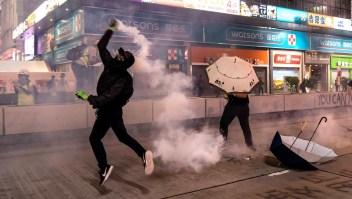 Economía de Hong Kong entra en recesión