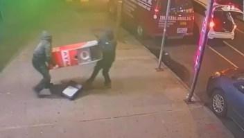 Así se roban un cajero automático en Nueva York