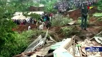 Camerún: muerte y devastación por un deslizamiento de tierra