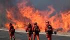 7.000 estructuras amenazadas por incendios en California