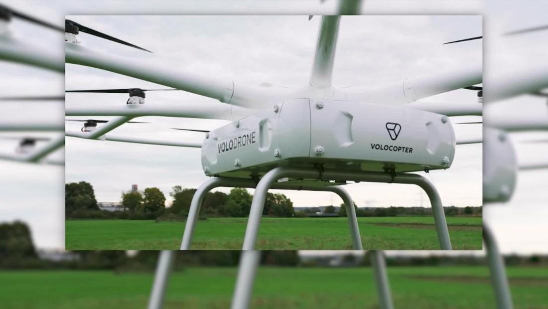 VoloDrone: diseñado para transportar carga