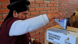 Ciudadanos en Bolivia piden nuevas elecciones