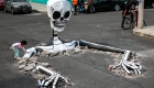 calaveras virales dia muertos tlahuac ciudad mexico