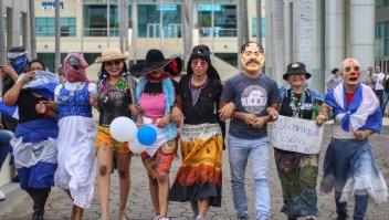 nicaragua marcha burla