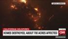 Impresionantes imágenes de los incendios en California