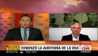 Álvaro García Linera , vicepresidente de Bolivia, en CNN Argentina
