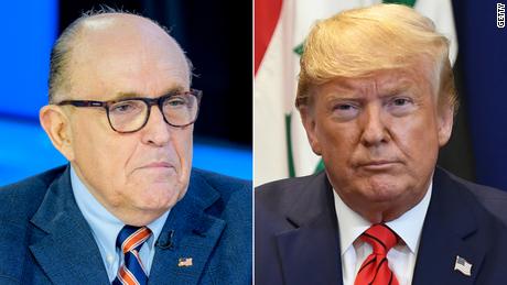 ¿Ya no apoya Trump a Rudy Giuliani?