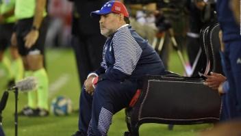 Maradona renuncia a su cargo como técnico de Gimnasia