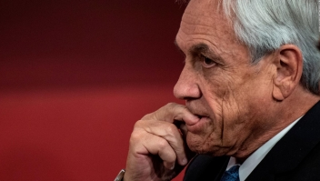 Sebastián Piñera anuncia plan antisaqueos