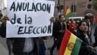 Evo Morales pide calma