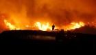Así es el infierno por los incendios en California