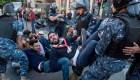 Manifestantes en Iraq y Líbano exigen cambio de Gobierno
