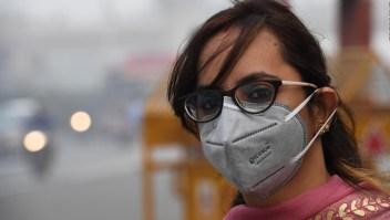 Respirar en Nueva Delhi es peligroso por el esmog