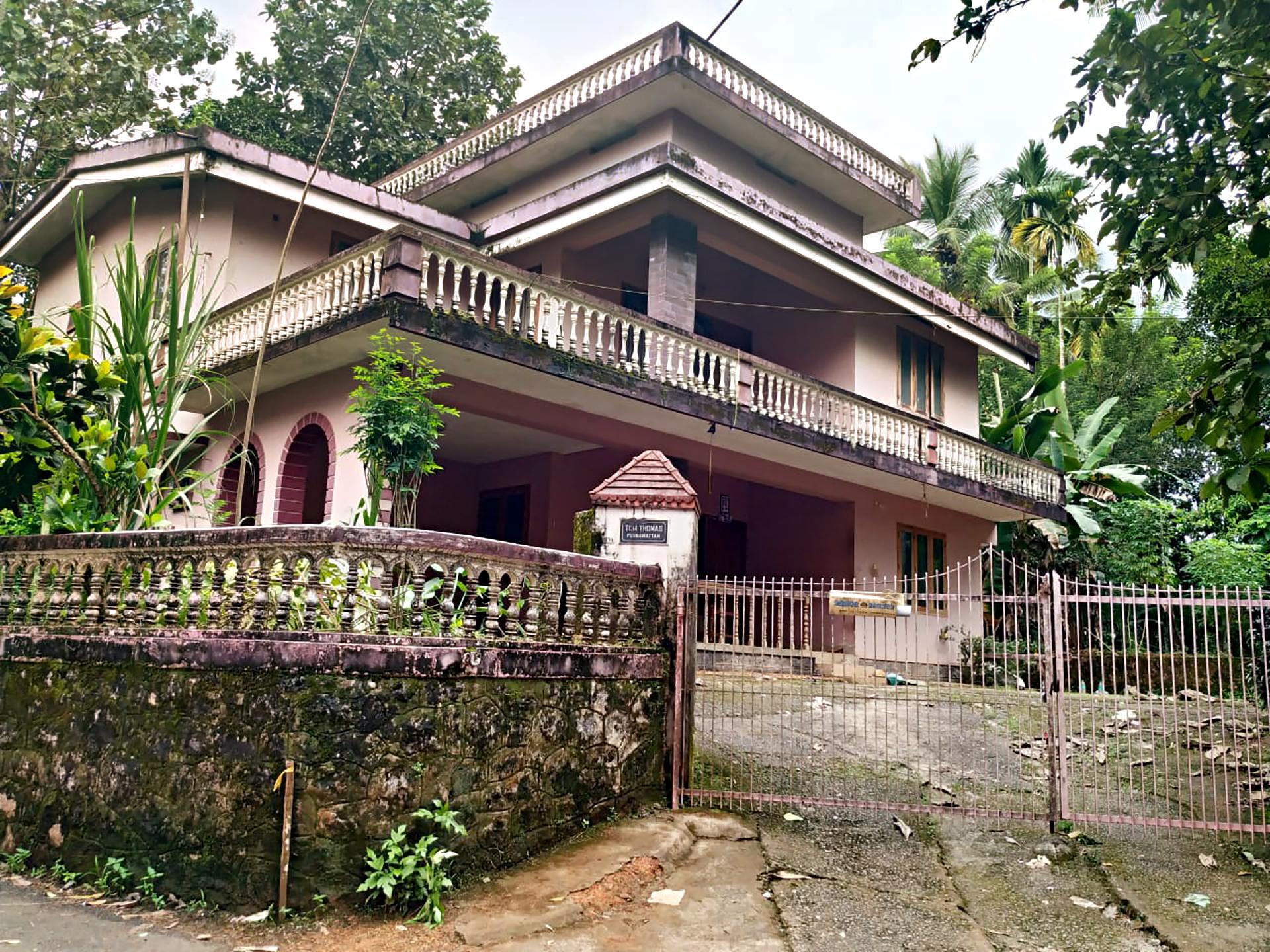 Casa de Jolly Joseph en Koodathai.