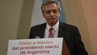 """Fernández dice que tiene """"comunión de ideas"""" con AMLO"""