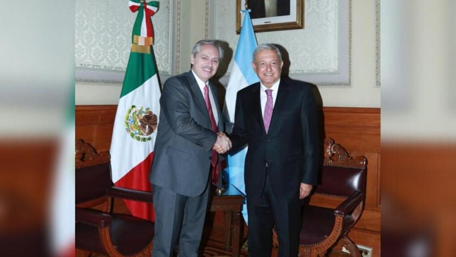Fernández junto a AMLO: esto dijo sobre Trump