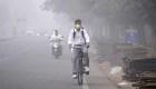 La contaminación del aire cubre a Nueva Delhi