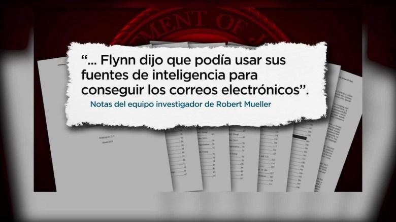 Conoce los apuntes de la investigación de Robert Mueller
