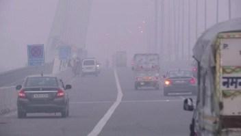 Nueva Delhi alcanza niveles récord de contaminación