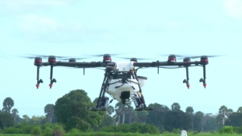 Drones que luchan contra la malaria