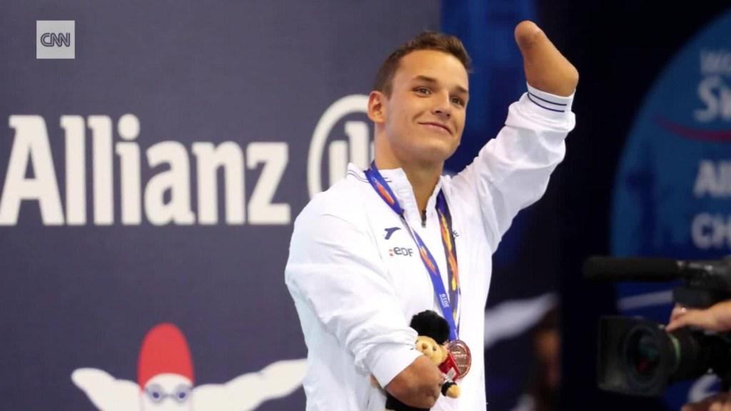 El nadador que cambia la forma de ver la discapacidad