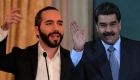 Bukele pide que sigan sus pasos respecto a Maduro