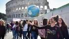 Escuelas italianas emprenden el cambio climático