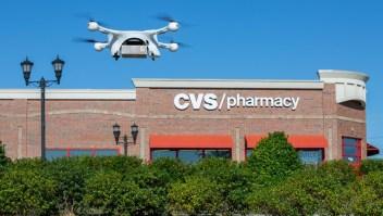 CVS hace la primera entrega con un dron de medicinas recetadas