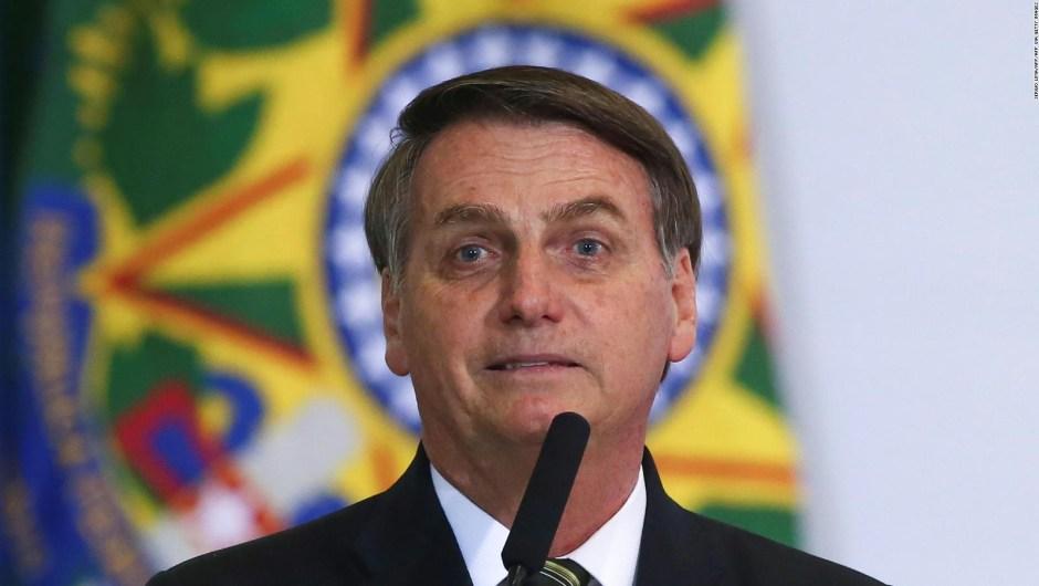 Bolsonaro tuiteó contra Argentina y luego lo borró