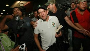 La llegada de Luis Fernando Camacho a la Paz