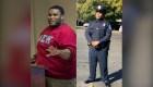 Adelgazó 80 kg para poder ser policía