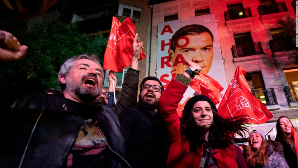 Resultados de elecciones en España mantienen la incertidumbre