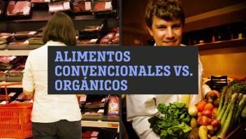 Alimentos convencionales vs. alimentos orgánicos