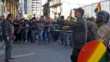 Las FF.AA. patrullarán las calles en Bolivia