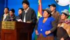 Evo Morales camino a su nueva vida en México