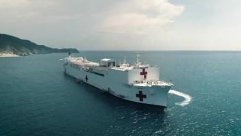 Así es Comfort, el buque hospital más grande del mundo
