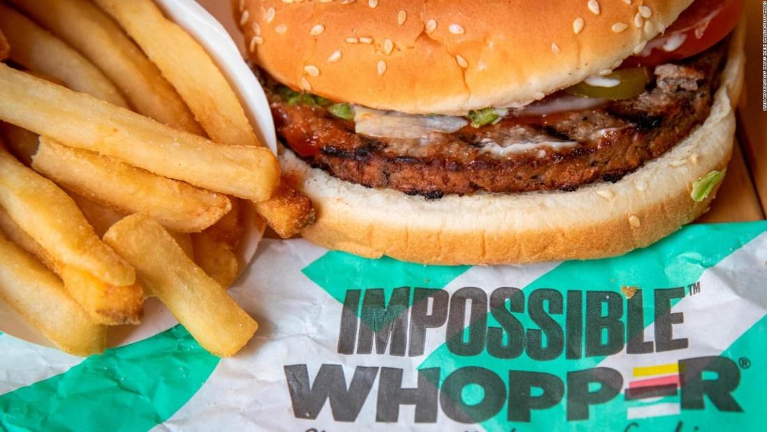 La hamburguesa sin carne de Burger King llega a Europa