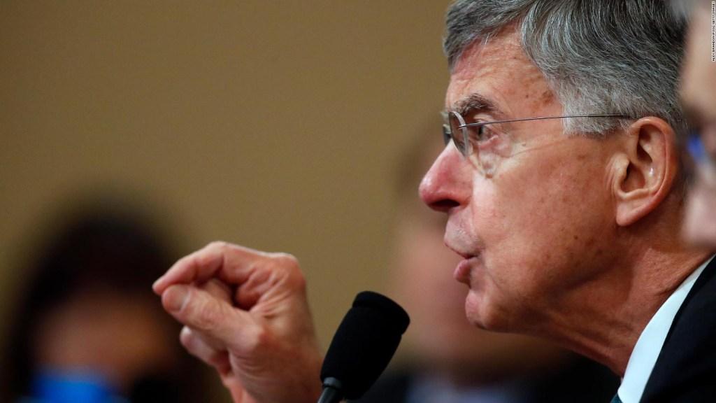 Juicio político a Trump: lo destacado del testimonio de Bill Taylor