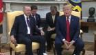 Trump dice que no hace caso a las audiencias