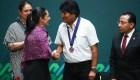 Evo Morales, huésped distinguido de Ciudad de México