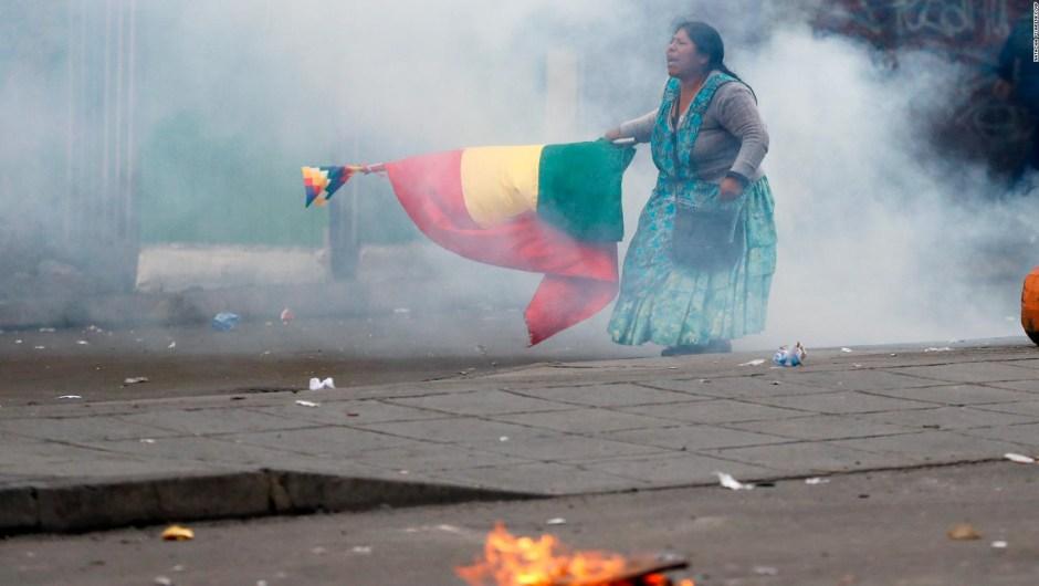 Al menos 10 muertos en las protestas en Bolivia