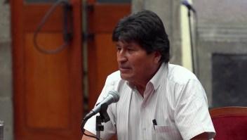 """Ministro: """"Vamos a acusar a Evo Morales ante La Haya"""""""