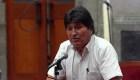 Lo que dijo Evo Morales en su primer discurso como asilado