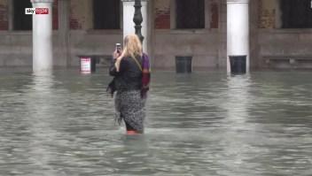Venecia recibirá ayudas tras las fuertes inundaciones