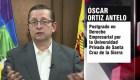 """Senador de Bolivia denuncia """"actitud obstruccionista"""""""