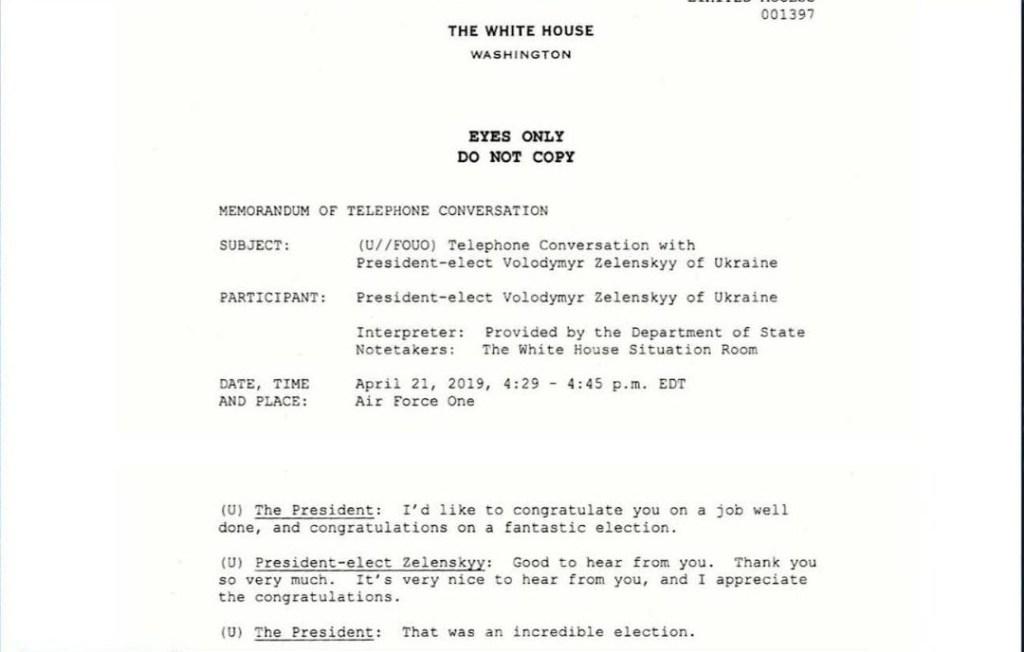 Casa Blanca: así fue la primera llamada Trump-Zelensky