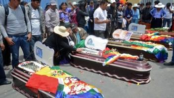CIDH: 9 muertos más en Bolivia durante el fin de semana