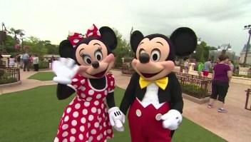 Mickey y Minnie Mouse cumplen años